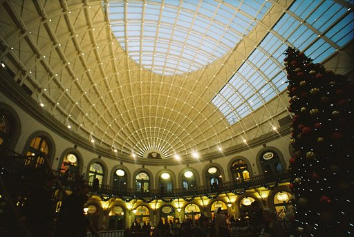 Christmas Market at Leeds Corn Exchange