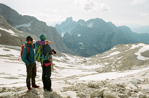 Around the World in Analogue: Training Days at the Gosau Glacier