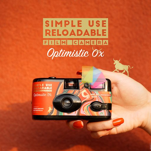 Welcome the New Year With the New Simple Use Reloadable Film Camera Optimistic Ox Edition!