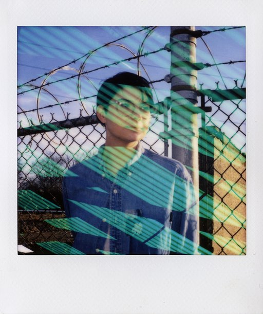 LomoAmigo Troy Memis with the Lomo'Instant Square Glass