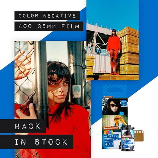 La Lomography Color Negative 35 mm ISO 400 est de retour en stock !
