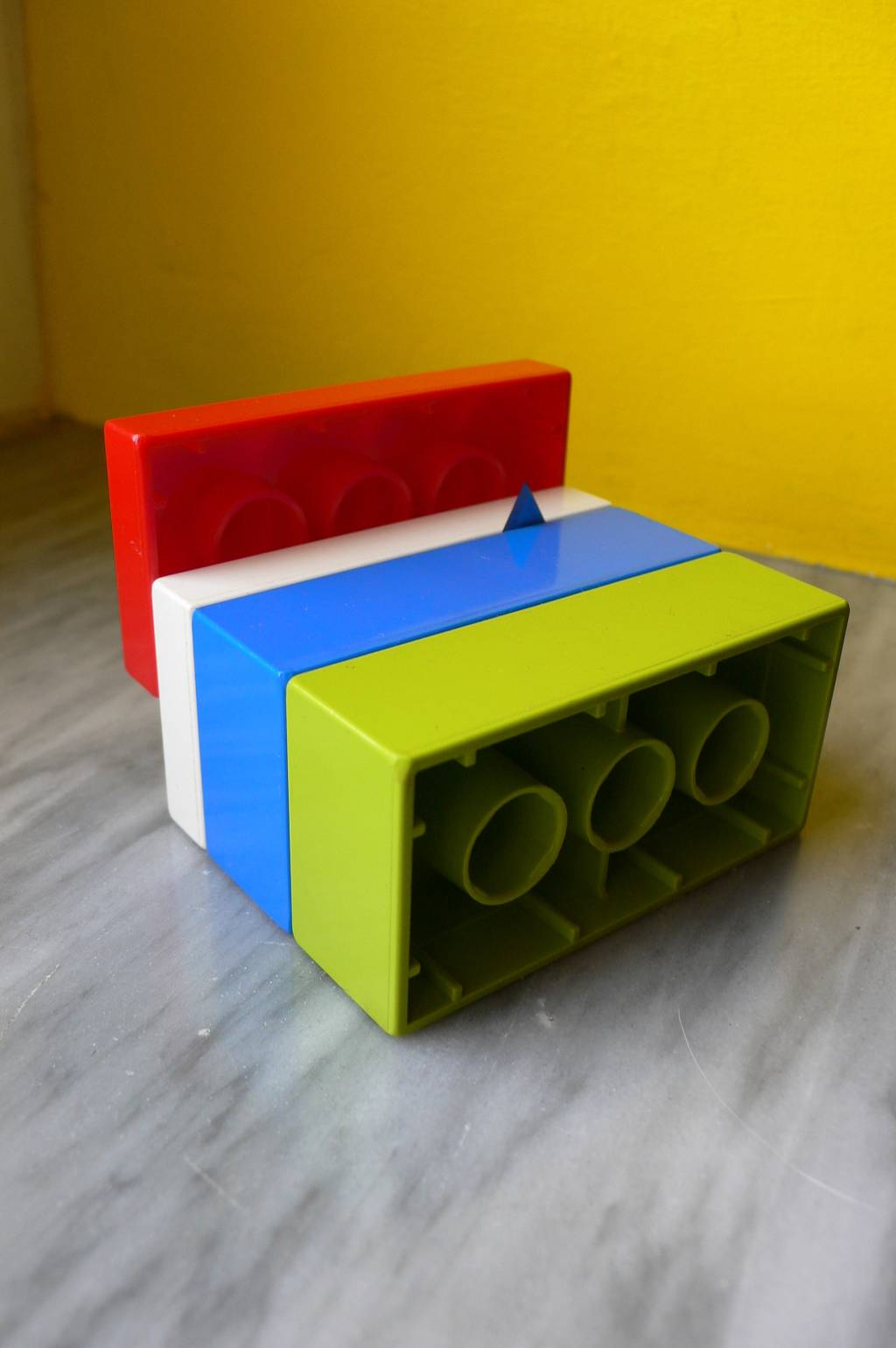 Building a 120 TO 127 Film Slitter Using Lego