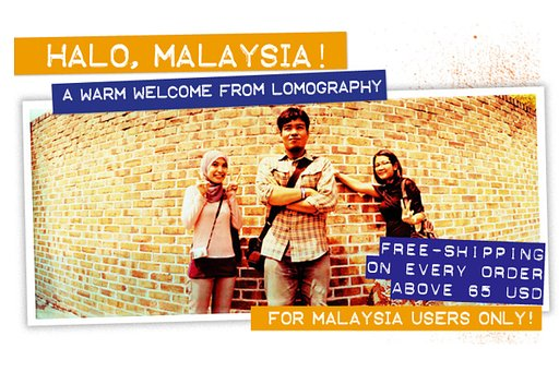 Halo Malaysia! Warm Welcome and Free Shipping For You!