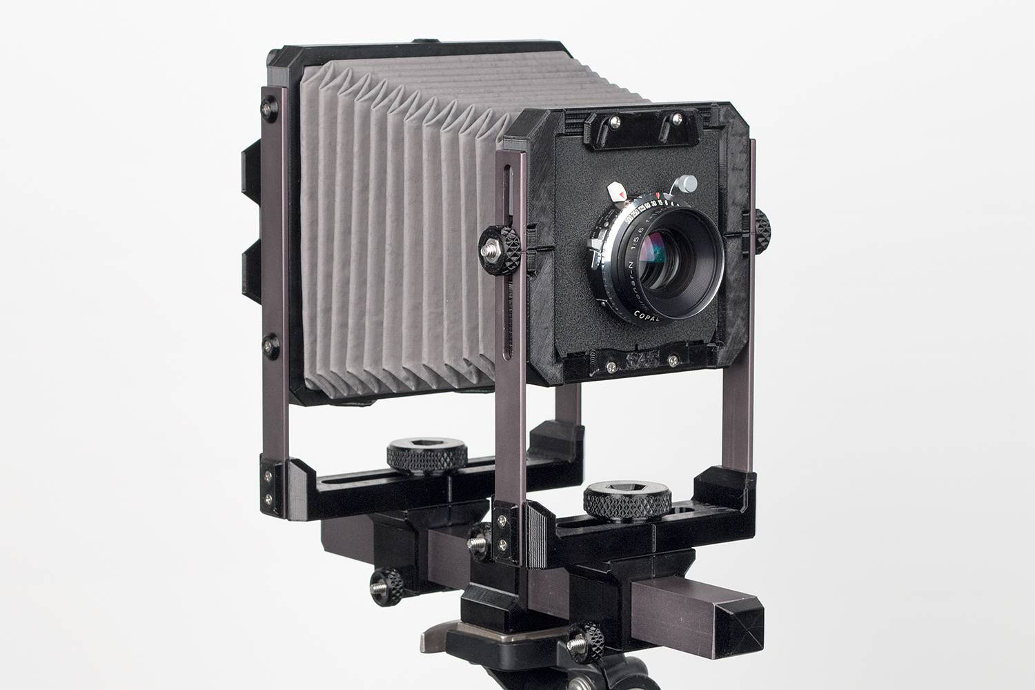 Store Your 35mm Compact Cameras And TLRs For A While Give Yourself Challenge With The Standard 4x5 DIY Large Format Camera Meant Budding