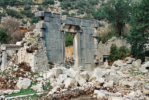 Around the World in Analogue: Olympos, Turkey