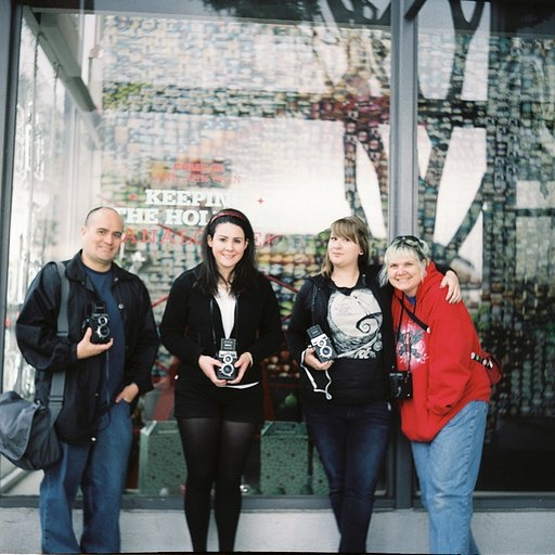 Re-Cap of Deck the Halls with Lubitel Lovers at the Lomography Gallery Store LA!