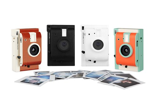 Met trots presenteren we de Lomo'Instant Camera!