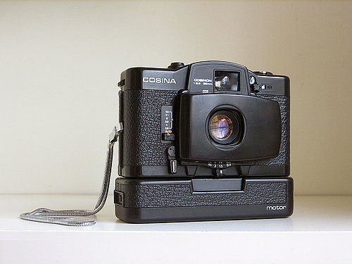 LOMO LC-A's Father: The Cosina CX-2