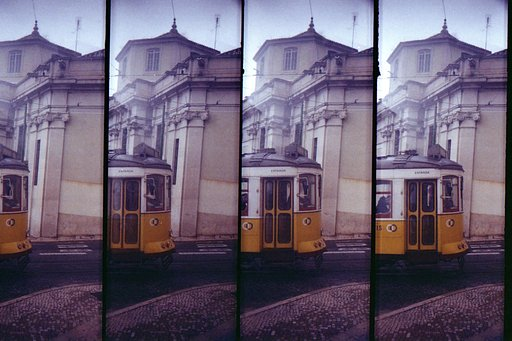 Lomography Day Trips: Lisbon, The City of Yellow Trams