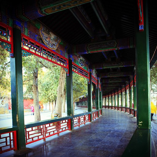 Winter at the Summer Palace