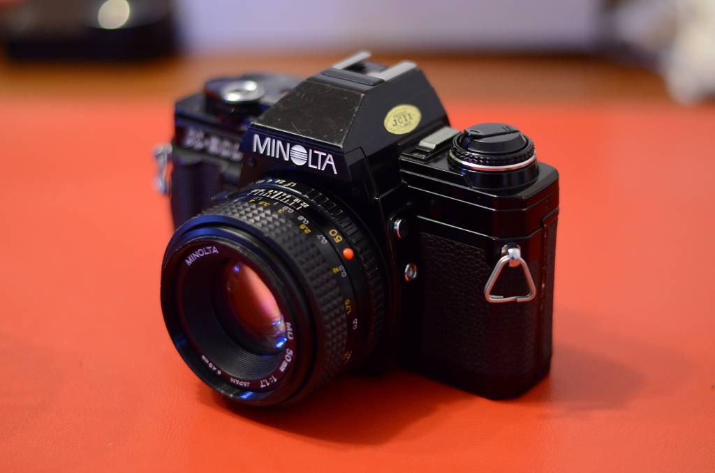 Minolta X-300: A Beautiful Analogue Camera