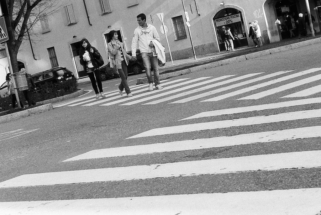 A Salute to the Masters: Crosswalk (A Tribute to Dennis Stock)