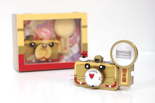 Valerie and her Maneki Neko La Sardina: an Interview