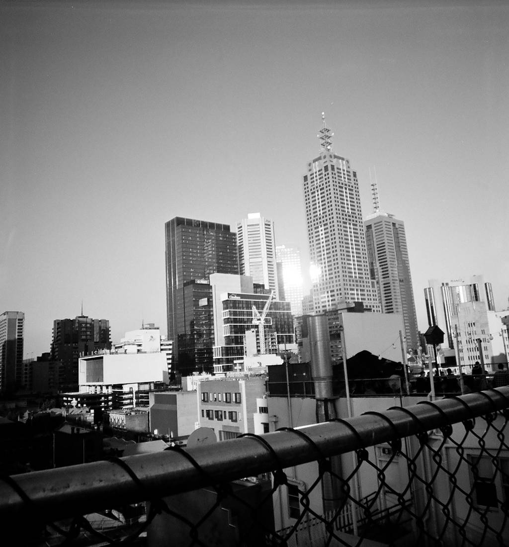 Marvellous Melbourne in Black and White