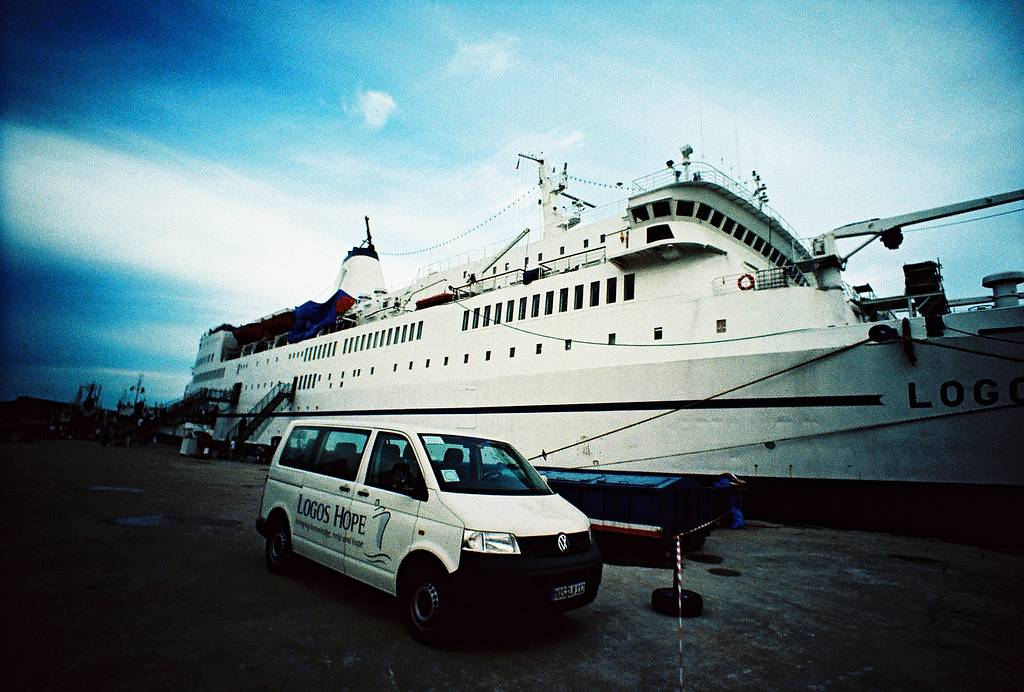 MV Logos Hope in Kuching