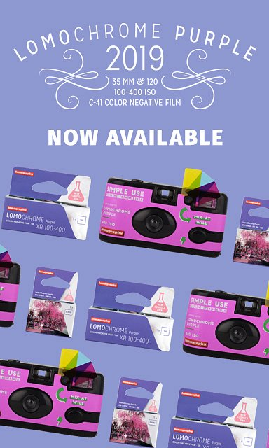 Lomochrome Purple 2019 Available Now!