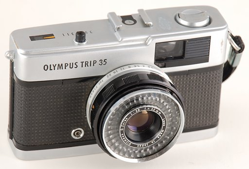 Olympus Trip 35 : The Most Classic and Trusty Camera