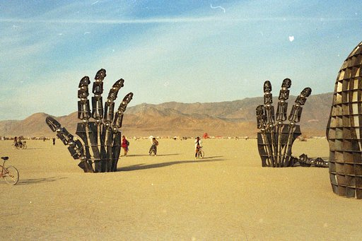 Places to Go for Traveling Lomographers: Burning Man