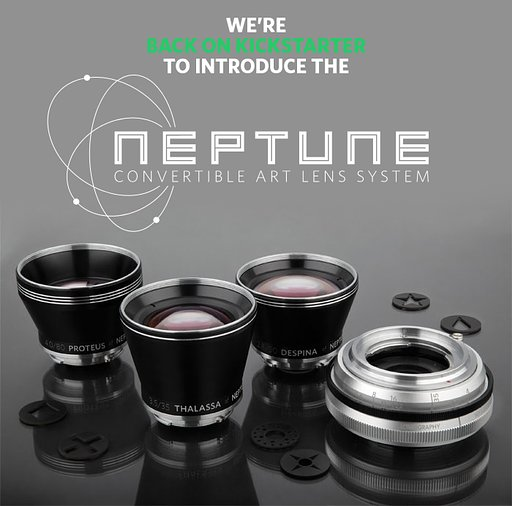 Help us bring the Neptune Convertible Art Lens System to life on Kickstarter