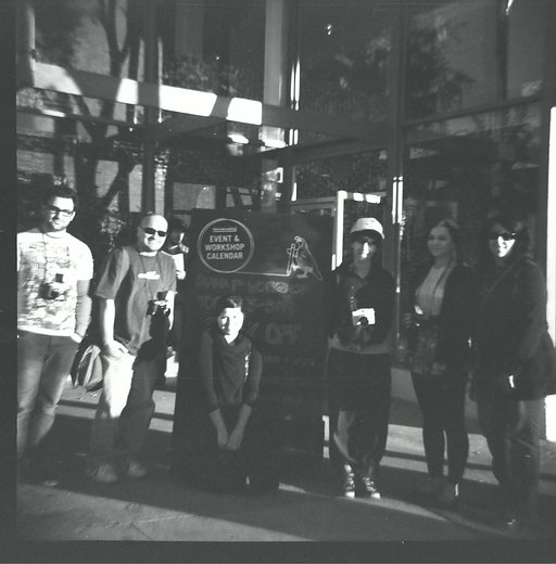 Re- Cap of White Out Black Friday: Diana F+ Workshop at the Lomography Gallery Store LA!