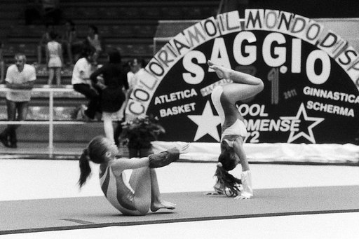 Sporty Snaps: Gymnastics in Black and White!