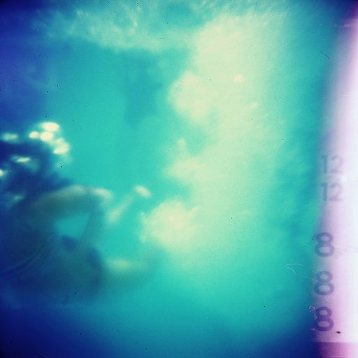 Underwater Photos with Diana F+