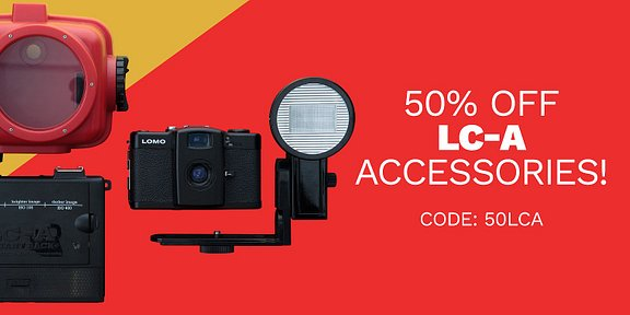 50% korting op LC-A Accessoires!