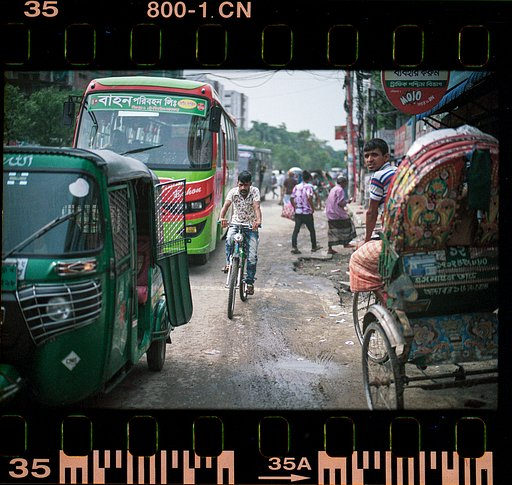 Cityscape of Dhaka: Around the World in Analogue with Alfonso Aguilar