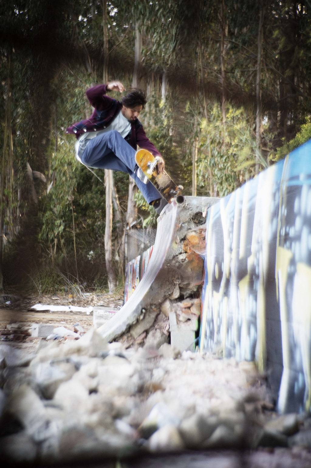Skate Photographer Joe Brook Shoots with the Petzval Lens