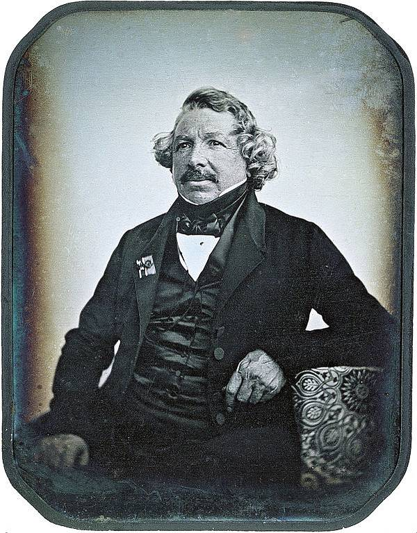 Today in History:  Louis Daguerre is Born (1787)