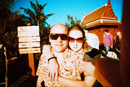 Introducing The New Lomography Sunset Strip 35mm Slide Film!