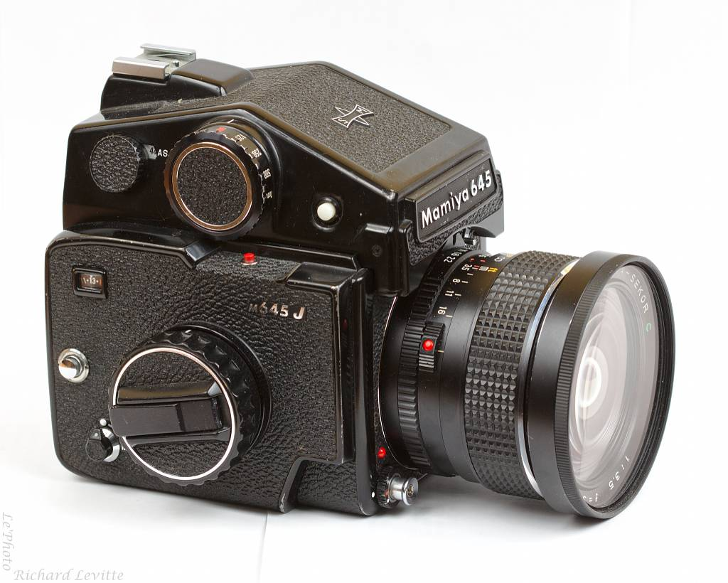 Taking the Mamiya M645J for a Spin