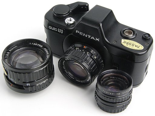 Pentax Auto 110: The World's Smallest SLR!