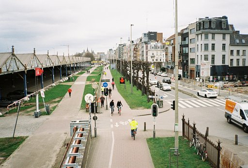 Around the World in Analogue: Antwerp Before the Need to Stay At Home