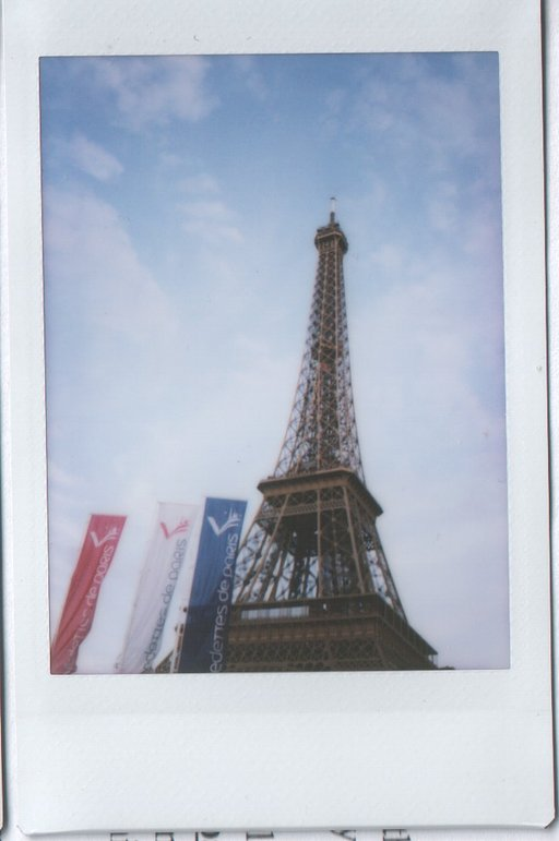 Around Paris with My Instax Mini