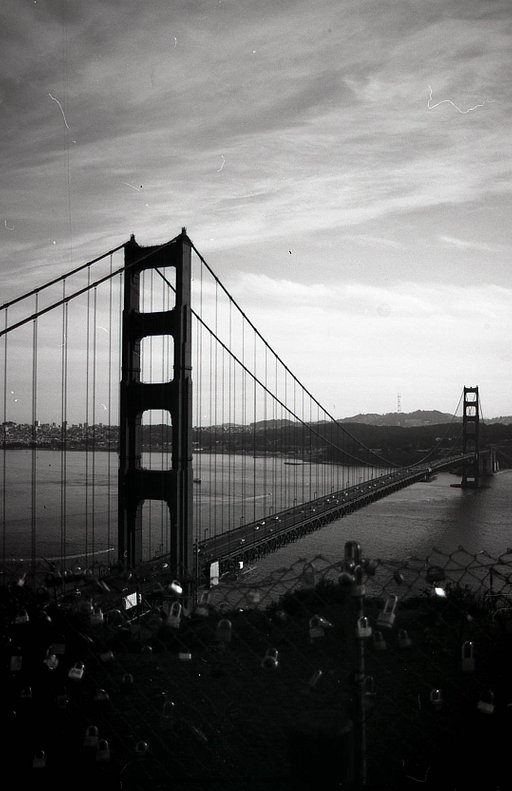 Zachary Sabac's Mysterious and Cinematic West Coast on Fantôme Kino B&W 35 mm ISO 8