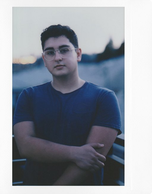 An Instant Portrait Session With Chris Bartolucci and the Lomograflok 4x5 Instant Back