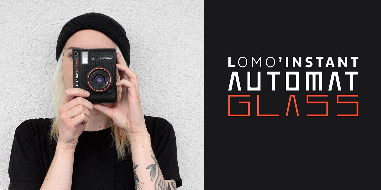 Pre-Order a Lomo'Instant Automat Glass Now!
