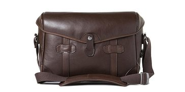 Barber Shop Pageboy Camera Bag - Dark Brown