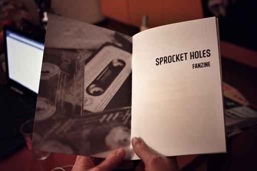 """Sprocket Holes"" la fanzine"