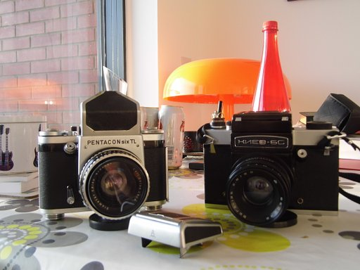 The Pentacon Six and Kiev 6c[s] compared