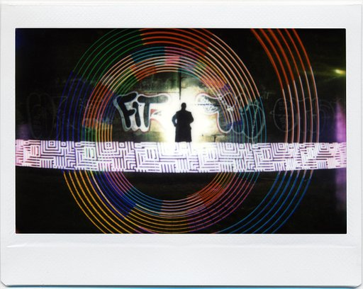 Ian Hobson: Lightpainting with the Lomo'Instant Wide