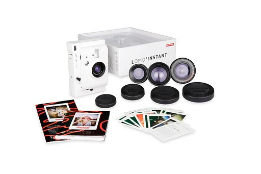 Lomo'Instant White - go crazy with your creativity