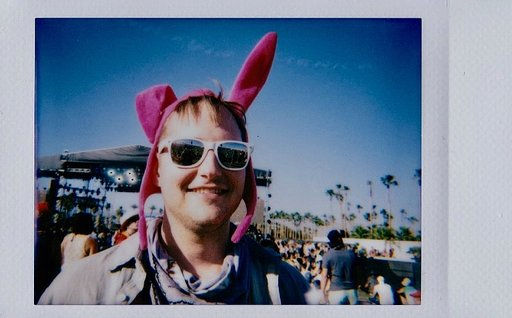 LomoReporter: At Coachella with Agueda Zarate