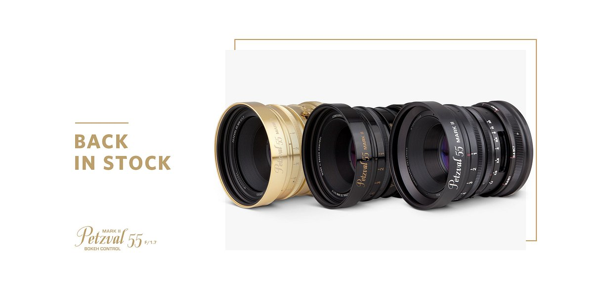 Mainsite Petzval 55 back in stock