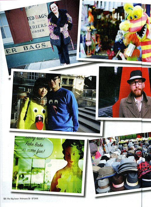 A Lomographic Photoshoot for Big Issue