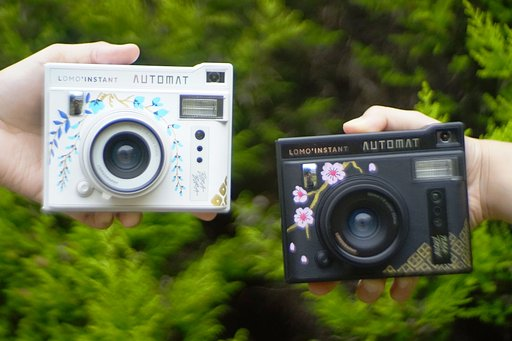 Illustrator Ella Lama Gets Artsy with the Lomo'Instant Automat