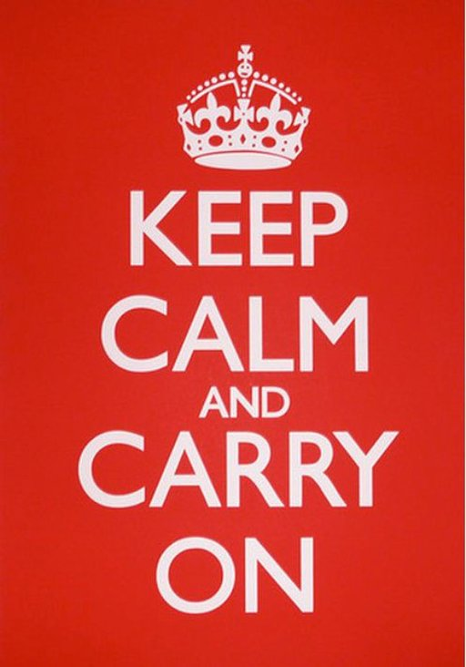 The Story Behind 'Keep Calm and Carry On'
