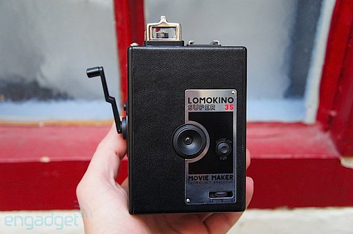 Engadget.com's Review on the LomoKino