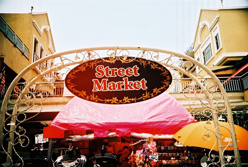 The Curve's Weekend Street Market